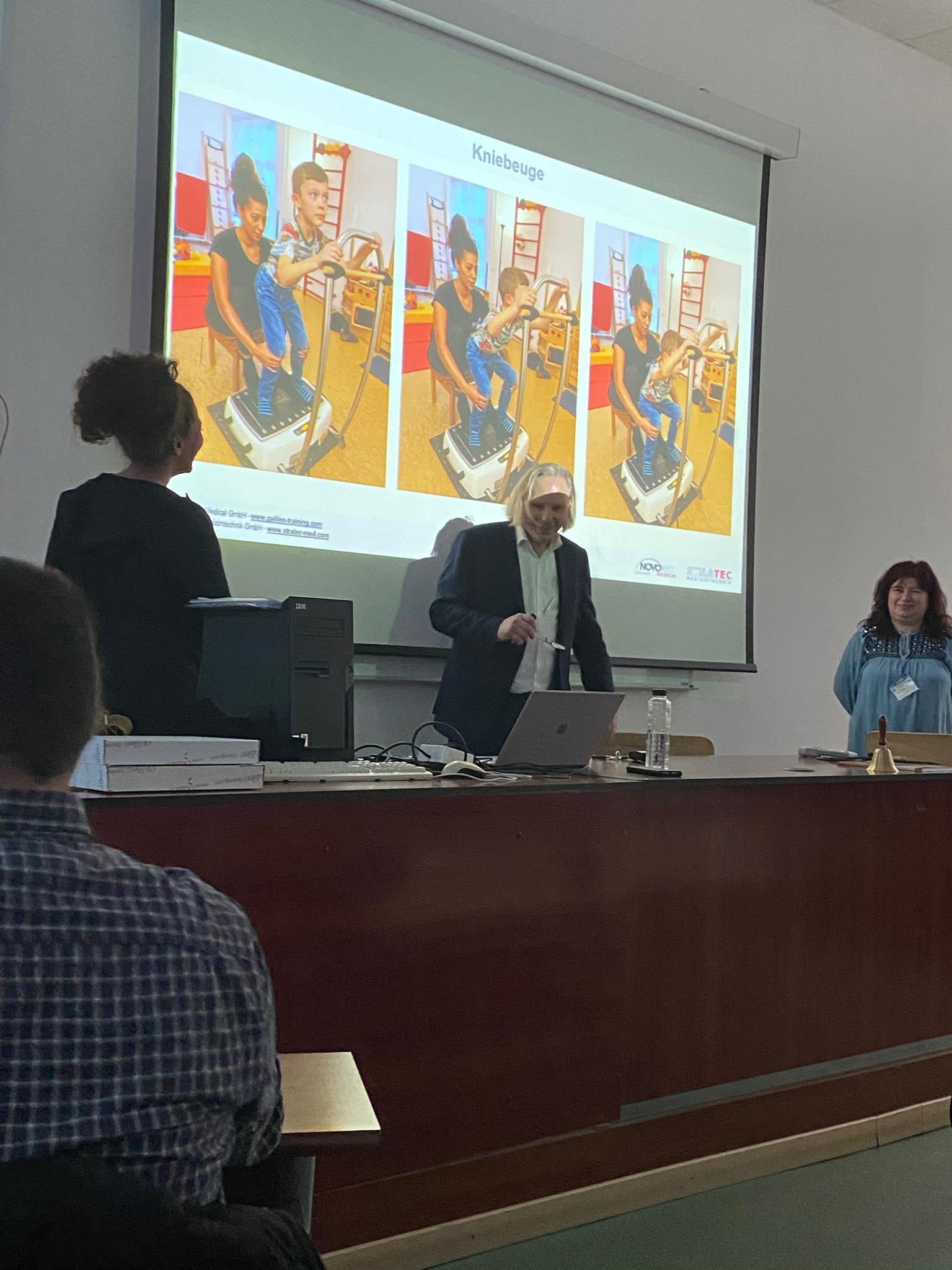 """Seminar cu Workshop """"Aplicarea metodei Galileo în tratamentul pacienților cu paralizie cerebrală"""""""