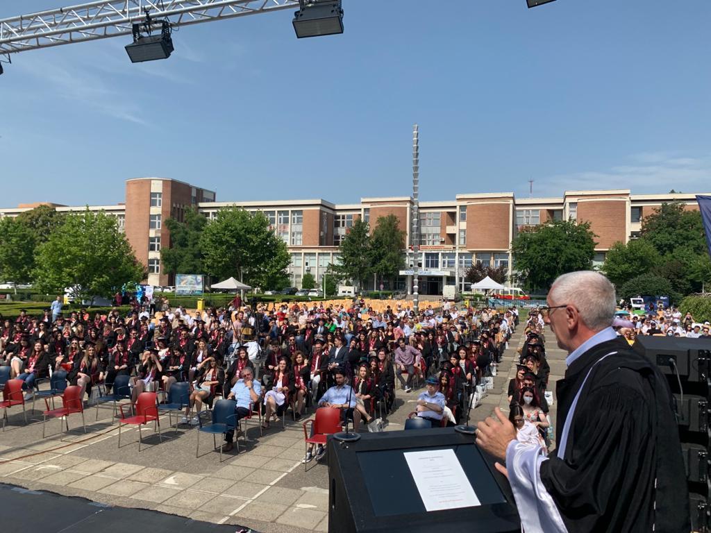 Festivitatea de absolvire a Facultății de Inginerie Medicală 2021